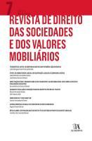 Revista de Direito das Sociedades e dos Valores Mobiliários   Nº7