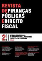Revista de Finanças Públicas e Direito Fiscal - Ano IV - Número 2 - Verão
