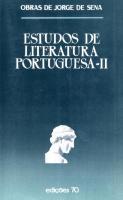 Estudos Literatura Portuguesa - Vol II