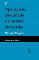 OPERACOES,QUALIDADE E CONTROLO DE GESTAO - VOL.VII