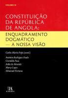 Constituição da República de Angola Vol. III