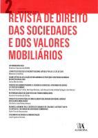 Revista de Direito das Sociedades e dos Valores Mobiliários   Nº2