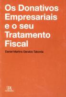 Os Donativos Empresariais e o seu Tratamento Fiscal