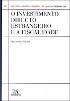 O Investimento Directo Estrangeiro e a Fiscalidade <br> N.º 4 da Colecção