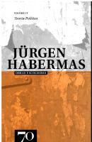 Obras Escolhidas de Jürgen Habermas - Vol. IV