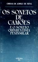 Sonetos de Camões e o Soneto Quinhentista Peninsular, Os