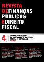 Revista de Finanças Públicas e Direito Fiscal - Ano II - Número 4 - Inverno