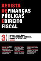 Revista de Finanças Públicas e Direito Fiscal - Ano III - Número 3 - Outono