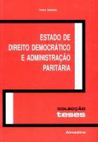 Estado de Direito Democrático e Administração Paritária