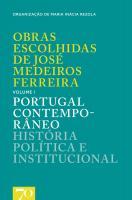 Obras Escolhidas de Medeiros Ferreira - Vol. I