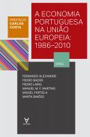 Economia Portuguesa na União Europeia - 1986-2010, A