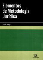 Elementos de Metodologia Jurídica