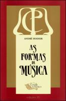 Formas da Música, As