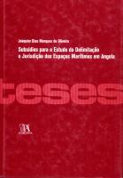 Subsídios para o Estudo da Delimitação e Jurisdição dos Espaços Marítimos em Angola