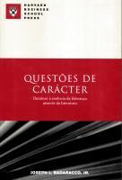 QUESTOES DE CARACTER