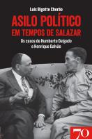 Asilo Político em Tempos de Salazar