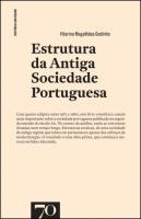Estrutura da Antiga Sociedade Portuguesa