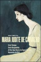 Obras Completas Maria Judite de Carvalho - Vol. V
