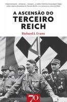 A Ascensão do Terceiro Reich - Vol. I