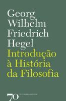 INTRODUCAO A HISTORIA DA FILOS - 9789724413464