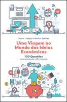 Uma Viagem ao Mundo das Ideias Económicas