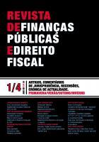 Revista de Finanças Públicas e Direito Fiscal Ano