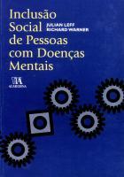 INCLUSAO SOCIAL DE PESSOAS COM