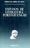 Estudos de Literatura Portuguesa - Vol. III