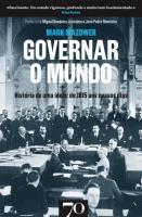 GOVERNAR O MUNDO - HISTORIA DE UMA IDEIA - DE 1815