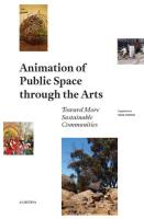 Animation Of Public Space Through The Arts