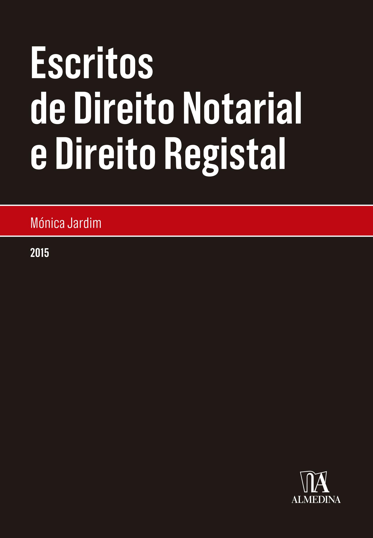 Escritos de Direito Notarial e Direito Registal